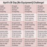 Join my 30 Day No Equipment Challenge!