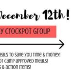 Free 5 Day Crockpot Group