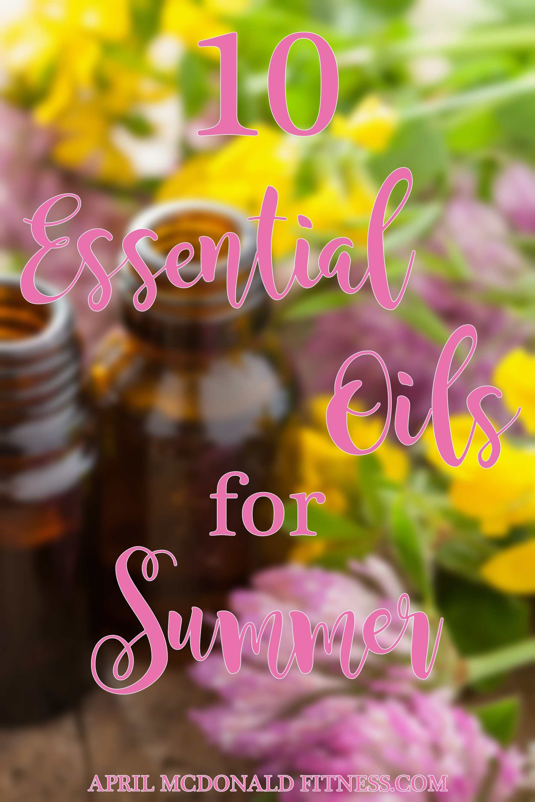 Summer can be tough. Fight back with essential oils!