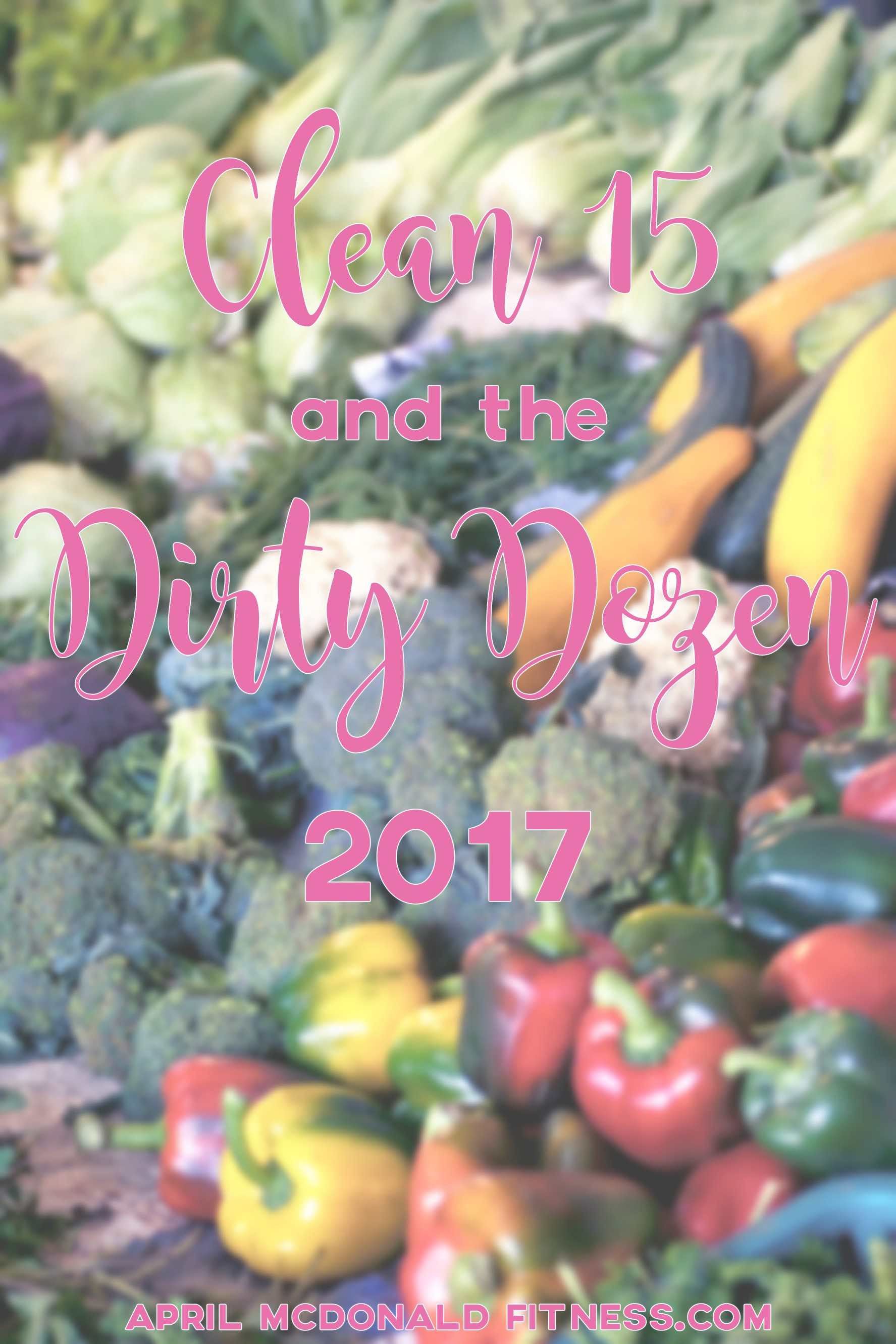 Do you really know what is on that produce? The Clean 15 Dirty Dozen gives you a full approved list of which produce has the most and the least pesticides!
